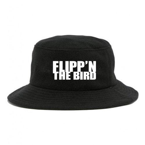 Flippin  The Bird   Bucket Hat - CharChill n f1c979ff0c6